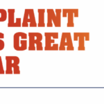 A complaint that's great to hear graphic