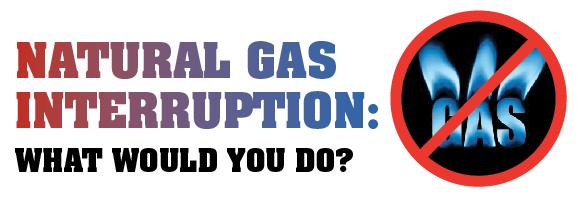 Gas Interuption