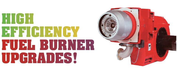 High efficiency fuel burner