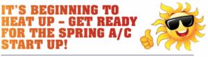 """its beginning to heat up"" graphic ACSI"